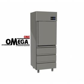 Ψυγείο Θάλαμος Κατάψυξη & Συντήρηση 455 Ltr 1 Πόρτα 3 Συρτάρια διαστ. 570x800x2035 mm