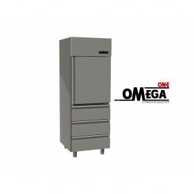 Ψυγείο Θάλαμος Καταψυξη 1 Πόρτα & 3 Συρτάρια 455 Ltr διαστ. 570x800x2035 mm