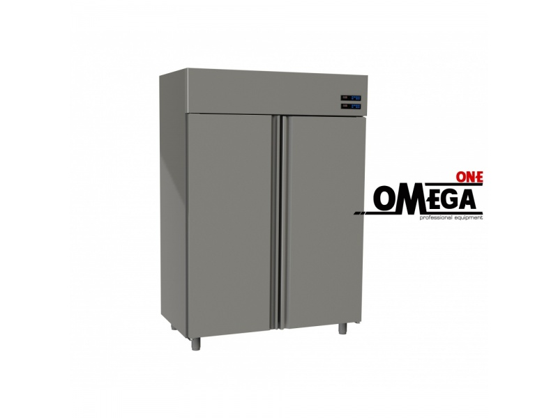 2 Doors Upright Conservation Stainless Steel 1315 Ltr Dimensions  1420x800x2035 Mm  Omega One