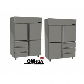 Ψυγείο Θάλαμος Κατάψυξη 3 Πόρτες & 3 Συρτάρια 1315 Ltr διαστ. 1420x800x2035 mm
