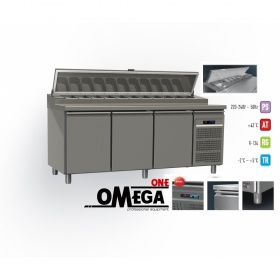 Ψυγείο Σαλατών Χωρίς Βιτρίνα διαστ. 1975x800x865/1020/1380 mm MPI8-204-PPP
