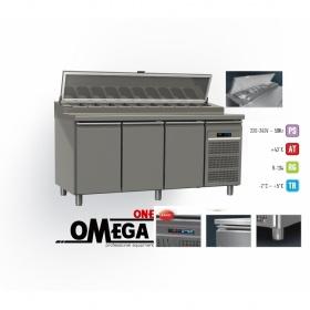 Ψυγείο Σαλατών Χωρίς Βιτρίνα διαστ. 1750x800x865/1020/1380 mm GN 1/1