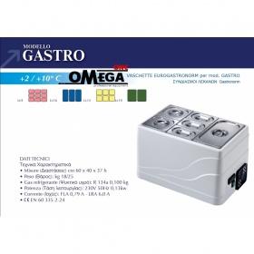 Επιτραπέζιο Ψυγείο Σαλατών & Πίτσας διαστ. 600x400x370 mm mod. GASTRO