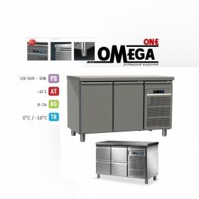 Ψυγείο Πάγκος Κατάψυξη με 2 Πόρτες διαστ. 1370x700x865 mm MK7F137PP