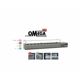 Επιτραπέζιο Ψυγείο Σαλατών & Πίτσας 10 GN 1/3 διαστ. 2200x386x420