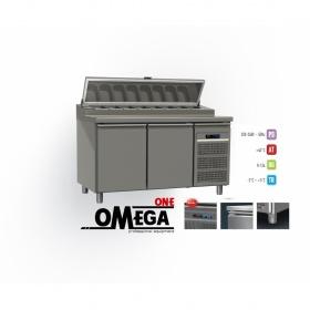 Ψυγείο Πίτσας/Τοστ Χωρίς Βιτρίνα διαστ. 1450x800x865/1020/1380 mm -Omega One