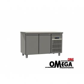 Ψυγείο Πάγκος Κατάψυξη με 2 Πόρτες διαστ. 1300x600x865 mm GN 1/2 & 1/3