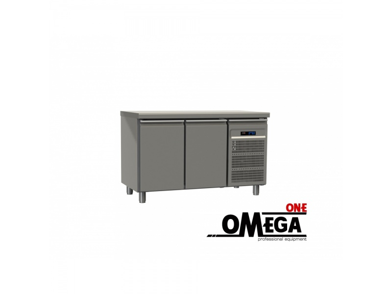 2 Doors Freezer Prep Counter Commercial Refrigerators And Freezers