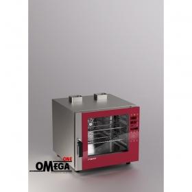 Αερίου Μαγειρικής Κυκλοθερμικός Direct Steam Φούρνος 6 GN 1/1