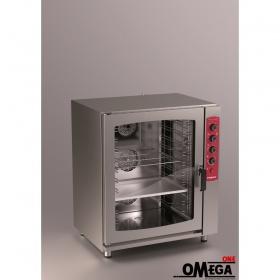 Φούρνος Μαγειρικής και Ζαχαροπλαστικής 10 GN 1/1 Ηλεκτρικός Combi Direct Steem Easy Line