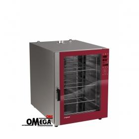 Φούρνος Μαγειρικής -10 GN 2/1 Κυκλοθερμικός Ηλεκτρικός Combi Direct Steam Prof Line