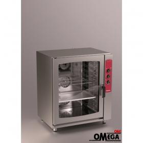 Φούρνος Μαγειρικής και Ζαχαροπλαστικής -10 GN 1/1 Ηλεκτρικός Αερόθερμος με Υγραντήρα Easy Line