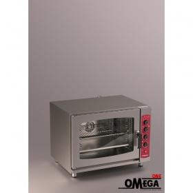 Αερόθερμος με Ατμό Μαγειρικής και Ζαχαροπλαστικής Ηλεκτρικός Φούρνος 5 GN 1/1