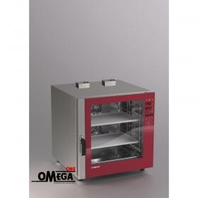 Αερίου Ζαχαροπλαστικής και Αρτοποιϊας Κυκλοθερμικός Direct Steam Φούρνος 7 Λαμαρινών 400x600 mm