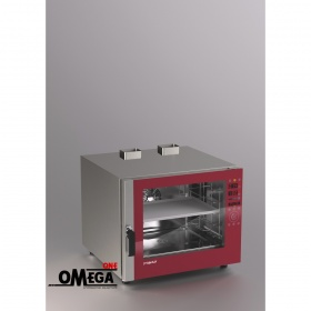 Αερίου Ζαχαροπλαστικής και Αρτοποιϊας Κυκλοθερμικός Direct Steam Φούρνος 5 Λαμαρινών 400x600 mm