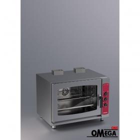 Μαγειρικής και Ζαχαροπλαστικής Αερόθερμος με Υγραντήρα Αερίου Φούρνος 5 GN 1/1