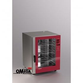 Φούρνος Μαγειρικής -10 GN 1/1 Κυκλοθερμικός Combi Direct Steam Ηλεκτρικός Prof Line