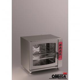 Αερόθερμος με Ατμό Μαγειρικής και Ζαχαροπλαστικής Ηλεκτρικός Φούρνος 7 GN 1/1