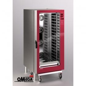 Μαγειρικής Κυκλοθερμικός Direct Steam Ηλεκτρικός Φούρνος 20 GN 1/1