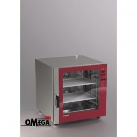 Ζαχαροπλαστικής και Αρτοποιϊας Ηλεκτρικός Φούρνος Κυκλοθερμικός Direct Steam 7 Λαμαρινών 400x600 mm