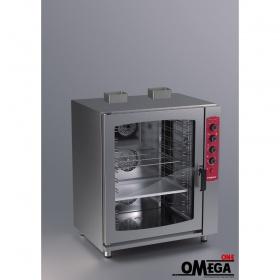 Μαγειρικής και Ζαχαροπλαστικής -10 GN 1/1 Αερίου Αερόθερμος Ψηφιακός Αφής Combi Direct Steem Easy Line