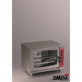 Αερόθερμος με Ατμό Μαγειρικής και Ζαχαροπλαστικής Ηλεκτρικός Φούρνος 5 GN 2/3