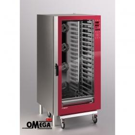 Ζαχαροπλαστικής και Αρτοποιϊας Ηλεκτρικός Φούρνος Κυκλοθερμικός Direct Steam 16 Λαμαρινών 400x600 mm