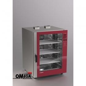 Αερίου Ζαχαροπλαστικής και Αρτοποιϊας Κυκλοθερμικός Direct Steam Φούρνος 10 Λαμαρινών 400x600 mm