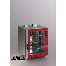 Αερίου Μαγειρικής Κυκλοθερμικός Direct Steam Φούρνος 10 GN 1/1