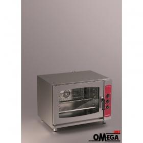 Φούρνος Μαγειρικής και Ζαχαροπλαστικής -5 GN 1/1 Ηλεκτρικός Αερόθερμος με Υγραντήρα Easy Line
