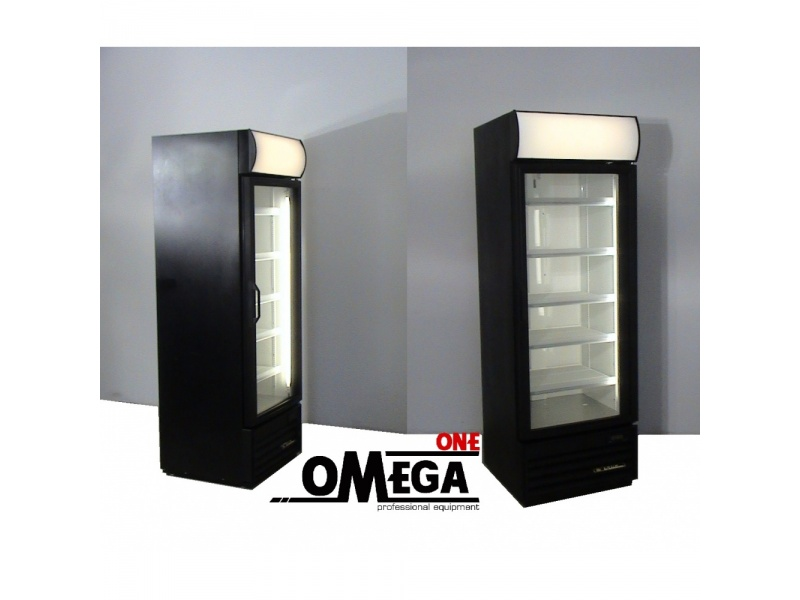 Single Glass Door Display Cooler Omega One True
