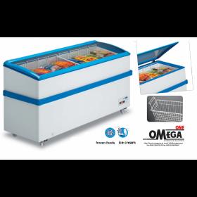 Καταψύκτης Οριζόντιος για Παγωτά & Κατεψυγμένα Προϊόντα διαστ. 1400x600x830 mm