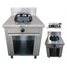 Wok Αερίου 1 Καυστήρας Κουζίνα Επιδαπέδια