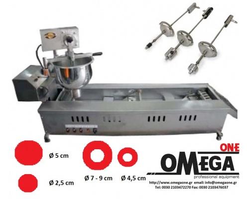 Αυτόματη Μηχανή Λουκουμάδων ΙΝΟΧ 2900/4001
