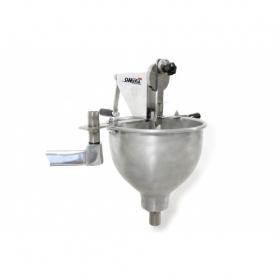 Λουκουμαδιέρα Χειροκίνητη με Δοχείο Αλουμινίου 5 Λίτρα