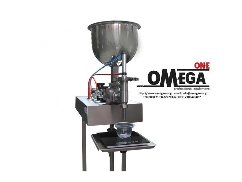 piston dosage filler 7 ltr omega one. Black Bedroom Furniture Sets. Home Design Ideas