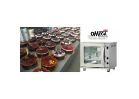 Αερίου και Ηλεκτρικοί Φούρνοι OMEGA ONE STEEL Αρτοποιϊας και Ζαχαροπλαστικής