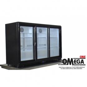 Ψυγείο Back Bar Συντήρηση Συρόμενες Πόρτες διαστ.1350x520x900 mm