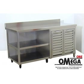 Ανοξείδωτος Σύνθετος Πάγκος Κατασκευής Omega One