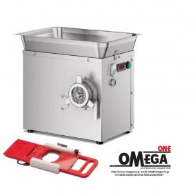 Ψυχόμενη Κρεατομηχανή παραγωγής 300 Kg/h με Ημι-αυτόματο Εξάρτημα για Χάμπουργκερ Omega Group C/E 22SRH