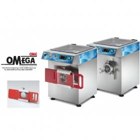 Ψυχόμενη Κρεατομηχανή παραγωγής 300 Kg/h με Ημι-αυτόματο Εξάρτημα για Χάμπουργκερ Omega Group C/E W22H
