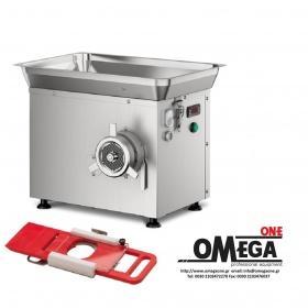 Ψυχόμενη Κρεατομηχανή παραγωγής 500 Kg/h με Ημι-αυτόματο Εξάρτημα για Χάμπουργκερ Omega Group C/E 32SRH