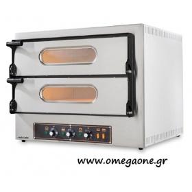 Ηλεκτρικός Φούρνος Πίτσας  (9+9 Πίτσες x Ø 36) TECPRO 99