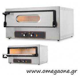 Ηλεκτρικός Φούρνος Πίτσας Μονός (1 Πίτσα x Ø 30 cm)