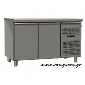 Ψυγείο Πάγκος Συντήρηση με 2 Πόρτες διαστ. 1450x700x865 mm Σειρά 70