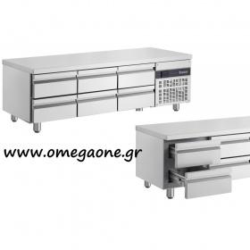 Ψυγείο Πάγκος Χαμηλό με 6 Συρτάρια διαστ. 1790x700x620 mm
