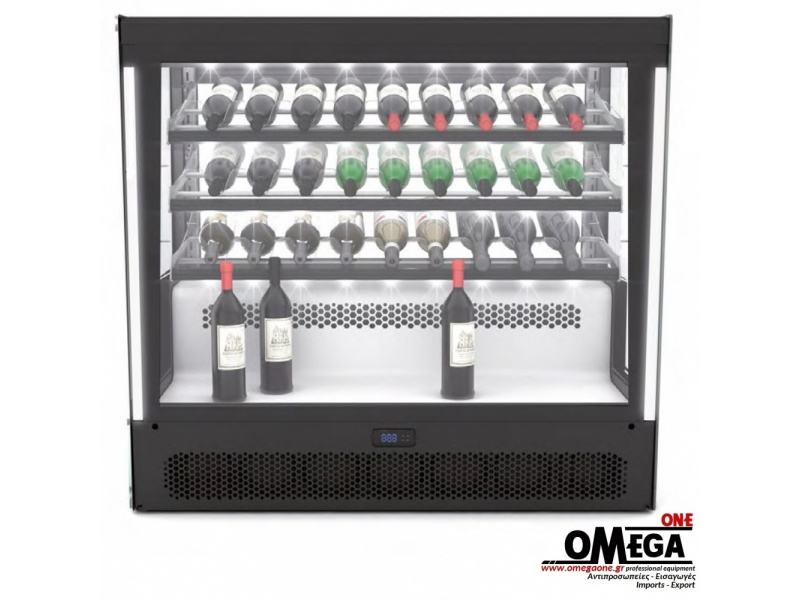 27 Bottle Single Zone Built-in Wine Cooler, Reflections Wine Cooler