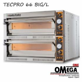 Ηλεκτρικός Φούρνος Πίτσας (6+6 Πίτσες x Ø 36) TLD 66 BIG/L
