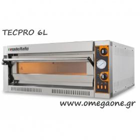 Ηλεκτρικός Φούρνος Πίτσας (6 Πίτσες x Ø 36 cm) TECPRO 6L