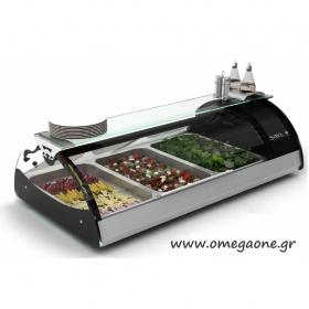 Επιτραπέζιο Ψυγείο Σαλατών MX Tapas